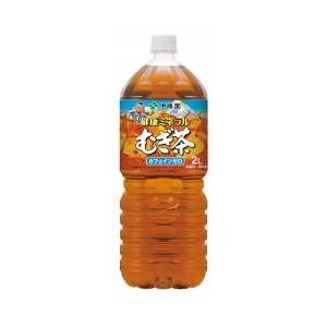 【ケース販売】伊藤園 ペットボトル 健康ミネラルむぎ茶 2L×12本セット まとめ買い - 拡大画像