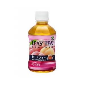 【ケース販売】伊藤園 TEAS' TEA ピーチティー ペットボトル280ml×48本セット まとめ買い - 拡大画像