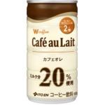 【ケース販売】伊藤園 Wコーヒー カフェオレ 180g×60本セット まとめ買い