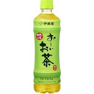 【まとめ買い】伊藤園 PETお〜いお茶緑茶525f×48本セット - 拡大画像