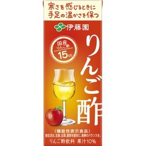 【ケース販売】伊藤園 機能性表示食品 紙りんご酢200ml×48本セット - 拡大画像
