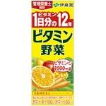 【ケース販売】伊藤園  ビタミン野菜 紙パック 200ml×48本セット