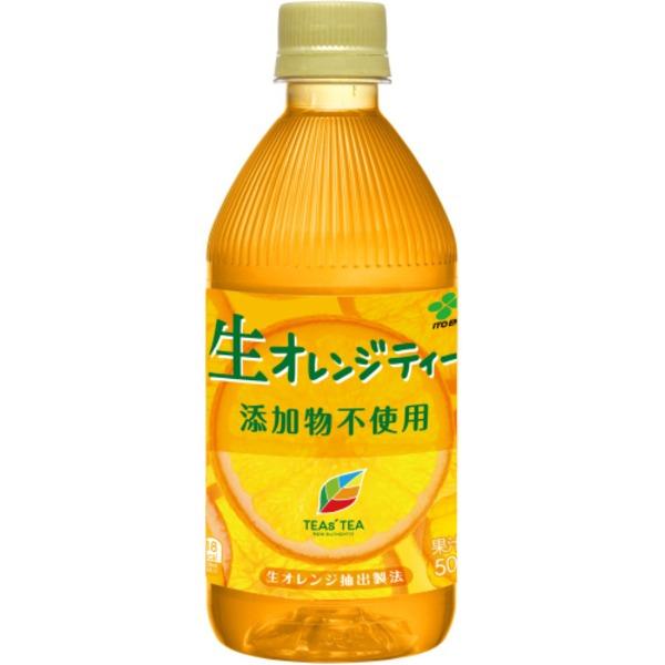 【まとめ買い】伊藤園 TEAs'TEA 生オレンジティーPET500ml 【500ml×48本セット】