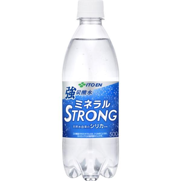 【まとめ買い】伊藤園 PET磨かれて、澄みきった日本の炭酸水500ml 【×48本セット】