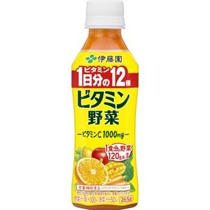 【まとめ買い】伊藤園 Pビタミン野菜265g 【×48本セット】 - 拡大画像