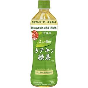【ケース販売】伊藤園 PET 2つの働きカテキン緑茶500ml 【×48本セット】 - 拡大画像