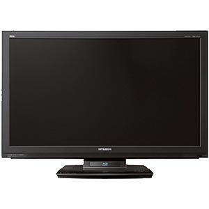 三菱37V型地上・BS・110度CSデジタル フルハイビジョン液晶テレビ (HDD内蔵ブルーレイディスクレコーダー搭載 録画機能付) REAL[ LCD-37BHR300 ] - 拡大画像