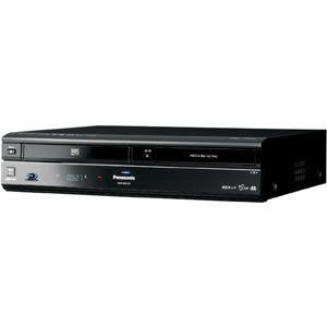 Panasonic 320GB HDD搭載 VHSビデオ一体型ブルーレイレコーダー DIGA ディーガ[ DMR-BR670V-K ] - 拡大画像