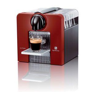 ネスレ ネスプレッソコーヒーメーカー Nespresso Le Cube (ル・キューブ)[ D180R ] - 拡大画像