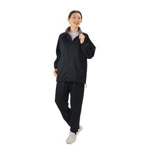 銀&チタン発汗フィットネススーツ レディース【サイズ:L】 [ Dキ0240 ] - 拡大画像