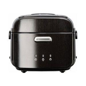 三菱 炭炊きIHジャー炊飯器(5.5合炊き) 漆黒炭(しっこくたん) MITSUBISHI 本炭釜[ NJ-WS10B-K ] - 拡大画像