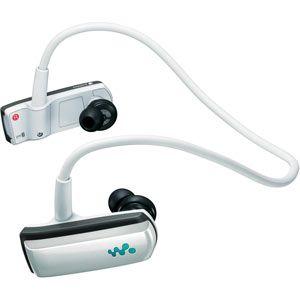 ソニー ウォークマン Wシリーズ(防水仕様) メモリータイプ 4GB ホワイト SONY Walkman NWD-W253[ NWD-W253-W ] - 拡大画像