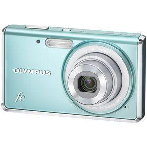 オリンパス デジタルカメラ(ライトブルー) OLYMPUS FE-4020[ FE-4020-LBL ] - 拡大画像