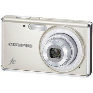 オリンパス デジタルカメラ(パールホワイト) OLYMPUS FE-4020[ FE-4020-WHT ] - 拡大画像