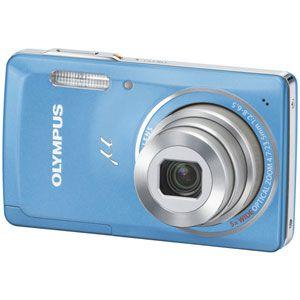オリンパス デジタルカメラ(ライトブルー) OLYMPUS μ(ミュー)5010[ ミユ-5010-LBL ] - 拡大画像