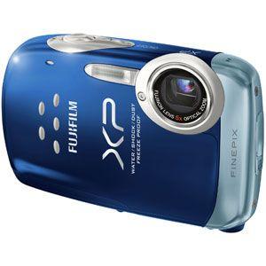 フジフィルム デジタルカメラ(ブルー) FUJIFILM FinePix(ファインピックス) XP10[ FFX-XP10-BL ] - 拡大画像