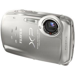フジフィルム デジタルカメラ(シルバー) FUJIFILM FinePix(ファインピックス) XP10[ FFX-XP10-S ] - 拡大画像