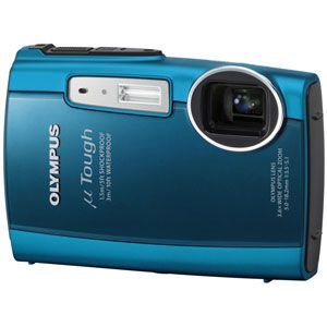 オリンパス デジタルカメラ(ブルー) OLYMPUS μ(ミュー)TOUGH 3000[ ミユ-TOUGH3000-BLU ] - 拡大画像