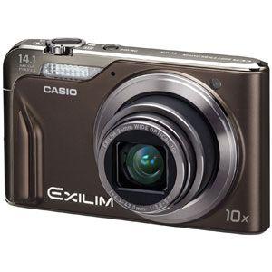 カシオ デジタルカメラ(ブラウン) CASIO EXILIM(エクシリム) EX-H15[ EX-H15-BN ] - 拡大画像