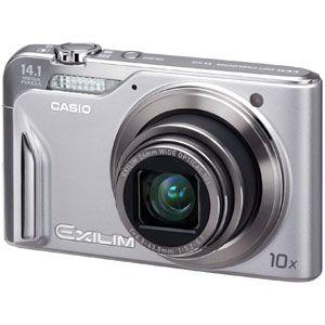 カシオ デジタルカメラ(シルバー) CASIO EXILIM(エクシリム) EX-H15[ EX-H15-SR ] - 拡大画像