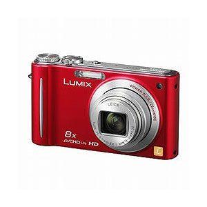 Panasonic デジタルカメラ(レッド) Panasonic Lumix(ルミックス)ZX3[ DMC-ZX3-R ] - 拡大画像