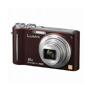 Panasonic デジタルカメラ(ブラウン) Panasonic Lumix(ルミックス)ZX3[ DMC-ZX3-T ] - 拡大画像