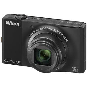 Nikon(ニコン) デジタルカメラ(ノーブルブラック) COOLPIX(クールピクス) S8000-BK - 拡大画像