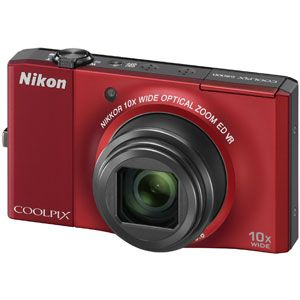 Nikon(ニコン) デジタルカメラ(フラッシュレッド) COOLPIX(クールピクス) S8000-RD - 拡大画像