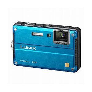 Panasonic デジタルカメラ(スプラッシュブルー) Panasonic Lumix(ルミックス)FT2[ DMC-FT2-A ] - 拡大画像