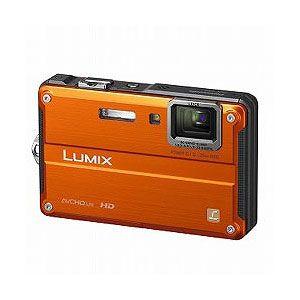 Panasonic デジタルカメラ(サンライズオレンジ) Panasonic Lumix(ルミックス)FT2[ DMC-FT2-D ] - 拡大画像