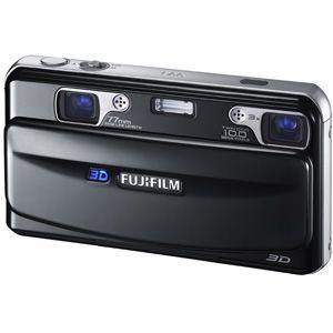 フジフィルム 3D静止画・動画撮影対応デジタルカメラ FUJIFILM FinePix REAL 3D W1[ FFX-3D-W1 ] - 拡大画像