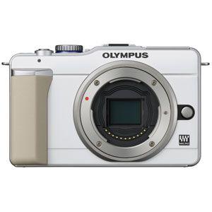 オリンパス マイクロ一眼カメラ [ E-PL1ボデイ(ホワイト) ] - 拡大画像