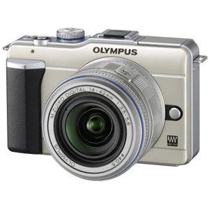オリンパス マイクロ一眼カメラ OLYMPUS PEN Lite「E-PL1レンズキット」シャンパンゴールド[ E-PL1レンズキツト(ゴ-ルド) ] - 拡大画像
