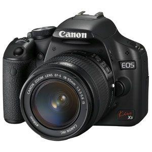 キヤノン CANON デジタル一眼レフカメラ キヤノンEOS KissX3(レンズキット) [ KISSX3-LKIT ] - 拡大画像