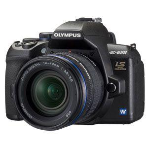 オリンパス ◇【お買い得品】OLYMPUS デジタル一眼レフカメラ オリンパス「E-620」ED14-42mmレンズキット [ E-620レンズキツト ] - 拡大画像