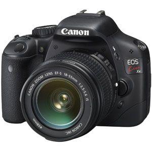 キヤノン デジタル一眼レフカメラ(EF-S18-55 IS レンズキット) CANON EOS KISS X4[ KISSX4-1855ISLK ] - 拡大画像