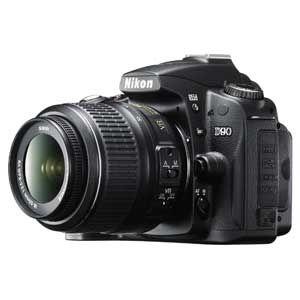 Nikon(ニコン) デジタル一眼レフカメラ ニコン D90(AF-S DX 18-55G VRレンズキット ) D90LK18-55VR - 拡大画像