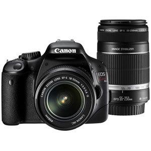 キヤノン デジタル一眼レフカメラ(ダブルズームキット) CANON EOS Kiss X4[ KISSX4-WKIT ] - 拡大画像