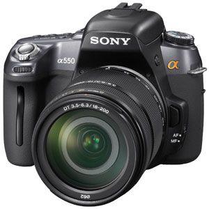 ソニー デジタル一眼レフカメラ(高倍率ズームレンズキット) [ DSLRA550H ] - 拡大画像