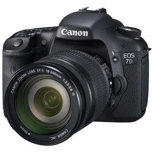 キヤノン デジタル一眼レフカメラ EOS7D(EF?S18?200 IS レンズキット) CANON EOS 7D[ EOS7D18200ISLK ] - 拡大画像
