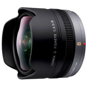 Panasonic LUMIX G FISHEYE 8mm/F3.5(マイクロフォーサーズマウント) [ H-F008 ] - 拡大画像