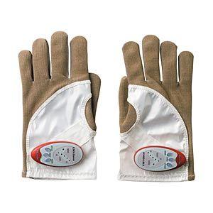 手袋式美容機器 ヤーマン EMSゴールデングローブ ボディ&フェイス用 防水 MN-A-21 - 拡大画像