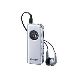 ソニー FMステレオ/AM PLL シンセサイザーラジオ [ SRF-M98-S ] - 拡大画像