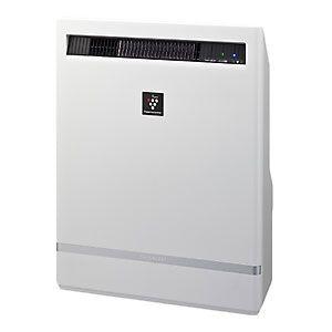 シャープ プラズマクラスターイオン発生機 SHARP 高濃度「プラズマクラスター25000」搭載(約12畳用 ホワイト系)[ IG-B200-W ] - 拡大画像