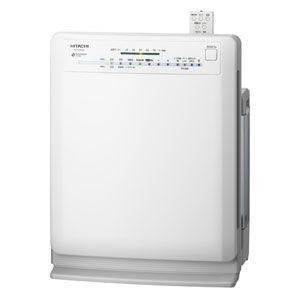 HITACHI(日立) 加湿空気清浄機(空清20畳まで ホワイト系) CLEAIR(クリエア) EP-EX50-W - 拡大画像