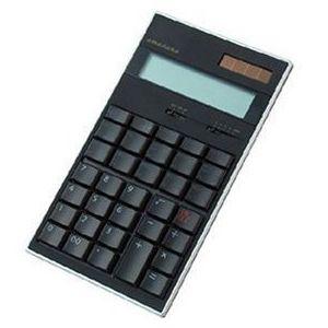 amadana(アマダナ) 電子計算機 12桁(ブラック) [ LC-504BK ] - 拡大画像