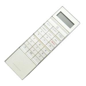amadana(アマダナ) スティック型電子計算機 10桁(ホワイト) [ LC-304WH ] - 拡大画像
