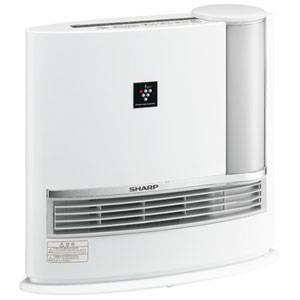 SHARP(シャープ) HX-129CX-C 加湿セラミックファンヒーター(ホワイト系) 【暖房器具】SHARP プラズマクラスター搭載 - 拡大画像