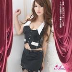 2010年新作☆美人OL制服コスプレ3点セット コスチューム