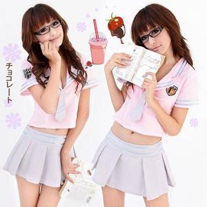 コスプレ 学生服*ミニスカートの制服コスプレ 6061 - 拡大画像